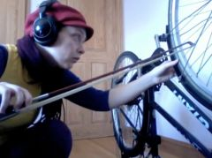 Going Away, improvisation for bicycle solo